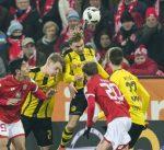 ماينز يفرض التعادل على دورتموند في الجولة الثامنة عشر من الدوري الألماني