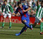 التحكيم يحرم برشلونة من الفوز على ريال بيتيس في الليغا