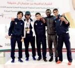 المنتخب الكويتي يحقق 9 ميداليات متنوعة في البطولة الخليجية للمبارزة