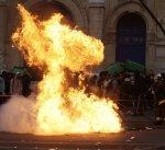 صدامات خلال تظاهرة في باريس