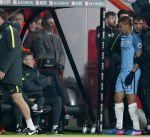 إصابة جيسوس لاعب مانشستر سيتي بكسر في القدم