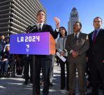 """أولمبياد 2024 .. حملة لوس أنجليس : """"الرياضة لا علاقة لها بالسياسة"""""""