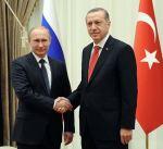 الرئيس الروسي يعرب عن ارتياحه لاستئناف العلاقات مع تركيا