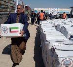 """""""الكويت بجانبكم"""" توزع مساعدات غذائية على النازحين في ديالى بالعراق"""