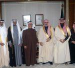 نائب وزير شؤون الديوان الأميري يستقبل المشاركين في الملتقى الشرعي الأول