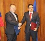 الكويت وسلوفاكيا توقعان اتفاقية دولية لتعزيز التعاون الاقتصادي والفني