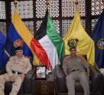 رئيس الأركان يبحث مع مسؤول عسكري عراقي التعاون المشترك
