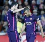 الإصابة تبعد رافينيا عن برشلونة مجددا
