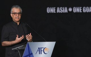سلمان بن إبراهيم: آسيا تدعم الاتحاد الفلسطيني بقوة