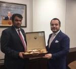 الوزير الروضان: موقع الكويت يؤهلها لتكون بوابة الخليج للمنتجات التركية