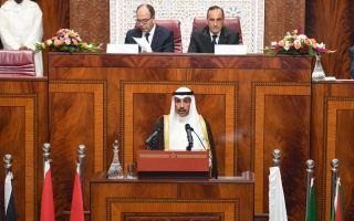 الغانم: الكويت مستمرة في نصرة الشعب الفلسطيني ورفضها لمشاريع الاستسلام