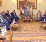 شخصيات ليبية تبحث تطورات الأوضاع في بلادها مع السلطات المصرية