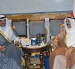 سمو الأمير يستقبل الشيخ صباح الخالد