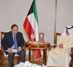 الجارالله يلتقي سفيري الفلبين والعراق