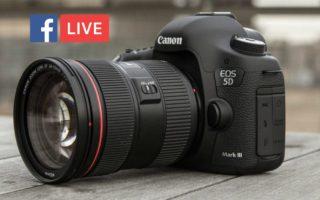 كيف تقوم بالبث المباشر على فيس بوك باستخدام كاميرا DSLR