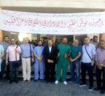أطباء كويتيون متطوعون يجرون عمليات جراحية للاجئين سوريين في الأردن