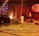 """انفجار في مطعم بمشرف خلف 8 إصابات.. 4 منهم في حالة مستقرة ومثلهم في """"الانعاش"""""""