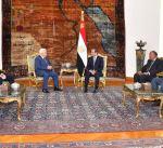 السيسي يواصل جهود استئناف المفاوضات بين الفلسطينيين والإسرائيليين
