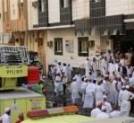 السعودية: السيطرة على حريق بمبنى يسكنه حجاج