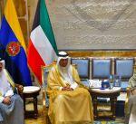 سمو الأمير يستقبل نائب رئيس مجلس الوزراء ووزير المالية