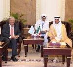رئيس مجلس الأمة يستقبل الأمين عام للأمم المتحدة