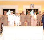 سمو ولي العهد يستقبل رئيس الأركان العامة للجيش