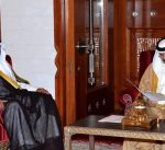 مبعوث سمو الأمير يسلم رسالة خطية من سموه إلى ملك البحرين