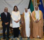 سمو أمير البلاد يستقبل مدير عام مؤسسة الكويت للتقدم العلمي