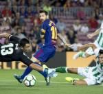 فوز باهت لبرشلونة على ريال بيتيس في بداية مشواره بالدوري الإسباني