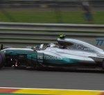 هاميلتون الأسرع في التجربة الثانية لسباق بلجيكا لسيارات فورمولا 1