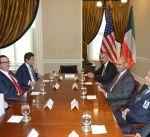 الوزير الصالح يؤكد حرص واشنطن على زيادة التعاون بعمليات مكافحة الإرهاب