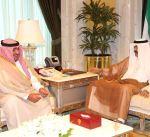 سمو نائب الأمير وولي العهد يستقبل رئيس جهاز الأمن الوطني