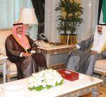سمو نائب الأمير وولي العهد يستقبل نائب رئيس مجلس الأسرة الحاكمة