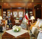 وزير الخارجية يتسلم نسخة من أوراق اعتماد سفير المملكة الأردنية الهاشمية