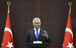 يلدريم يؤكد أهمية وحدة أراضي العراق وسوريا
