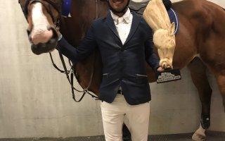 """الكويتي علي الخرافي يحرز المركز الأول في انطلاقة """"سانتاور بارك الدولية"""" لقفز الحواجز"""