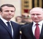 الرئيس الفرنسي ماكرون يقبل دعوة لزيارة روسيا