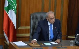 """مجلس النواب اللبناني يشيد بموقف #مرزوق_الغانم في """"سانت بطرسبورغ"""""""