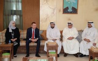 جامعة الكويت: وزير خارجية لاتيفيا في ضيافة العلوم الاجتماعية