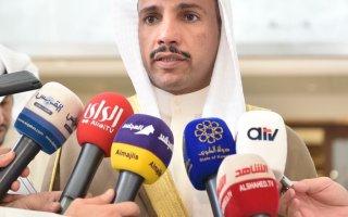 الرئيس الغانم: أدعم وأساند كل ما جاء في رسالة صاحب السمو إلى النواب