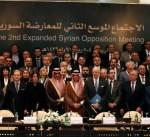 السعودية ترحّب باتفاق المعارضة السورية