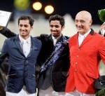 الفارس الكويتي الحساوي يحرز المركز الاول في بطولة الريان الدولية لقفز الحواجز