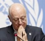 الأمم المتحدة: وفد النظام السوري يصل جنيف غداً الأربعاء