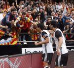 فالنسيا يواصل انتصاراته في الدوري الإسباني ويتخطى ليغانيس بثلاثية