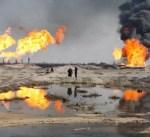 """العراق يعلن اطفاء بئر نفطي في حقل """"باي حسن"""" بمحافظة كركوك"""