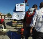 الكويت توزع 30 الف لتر من النفط الأبيض على متضرري زلزال اقليم كردستان