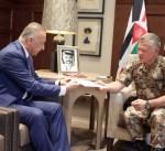 """العاهل الأردني يتسلم دعوة الى مؤتمر """"إعادة إعمار العراق"""" المقرر بالكويت"""