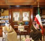 وزير الخارجية يلتقي الأمين العام لمجلس التعاون الخليجي