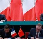 فرنسا: ماكرون يُعلن شراء الصين 184 طائرة إيرباص