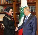 الرئيس اللبناني: مواقف سمو الأمير تجعل الكويت قريبة جدا من الدول الشقيقة والصديقة